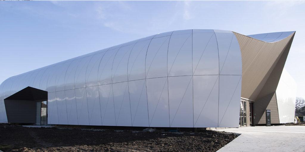 Centre de conférence CAPG façade Nord