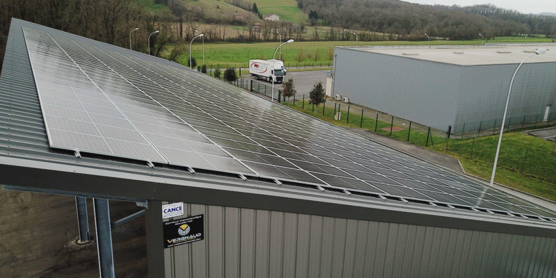 Hangar photovoltaïque Vergnaud France / Orthez (64)Stockage-monopente-photovoltaïque-vergnaudfrance-Orthez-02