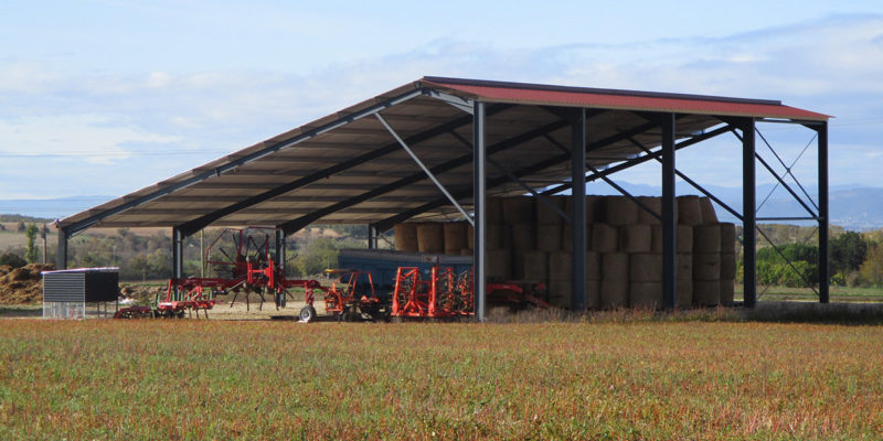 Hangar photovoltaïque Albioma / bât.1 Charpey (26)