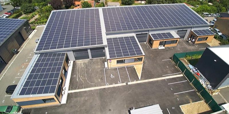 Monopente tertiaire photovoltaïque - Ecotecnic / Toulouse (31)