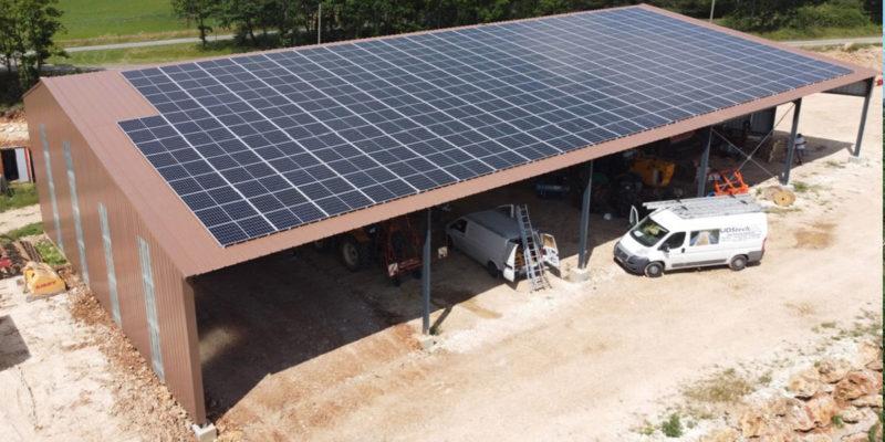 Bâtiment photovoltaïque Photosun / Tonnac (81)