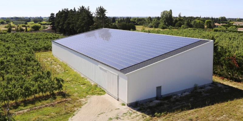 Versant Sud Bâtiment photovoltaïque - Provence Éco Énergie / Cavaillon (84)